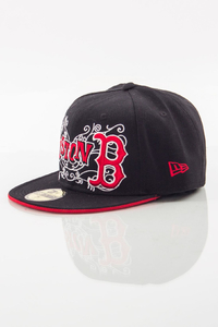 NEW ERA FULLCAP BOSTON BLACK