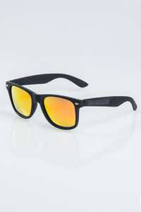 NEW BAD LINE OKUALRY CLASSIC BLACK RUBBER RED MIRROR POLARIZED 1163