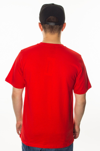 PATRIOTIC T-SHIRT EAGLY SHADOW RED