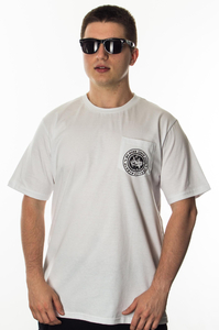 JWP T-SHIRT GLOBETROTTER WHITE
