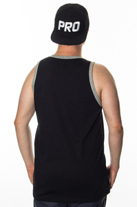 PROSTO KLASYK TANKTOP GO OVER BLACK