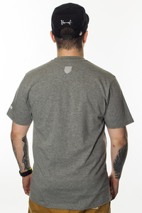 PROSTO KLASYK T-SHIRT CRACK GREY