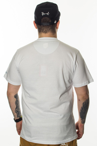 PROSTO KLASYK T-SHIRT CRACK WHITE