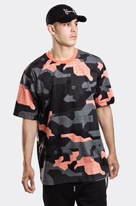 STOPROCENT T-SHIRT TM CAMU18 LIGHT CORAL