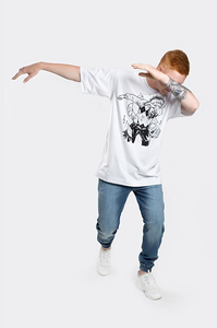 STOPROCENT T-SHIRT TM DABING WHITE