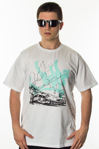 JWP T-SHIRT HOMETOWN WHITE