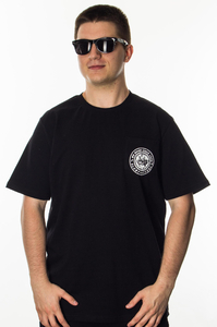 JWP T-SHIRT GLOBETROTTER BLACK