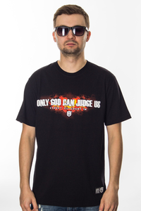 STREET AUTONOMY T-SHIRT ONLY GOD BLACK