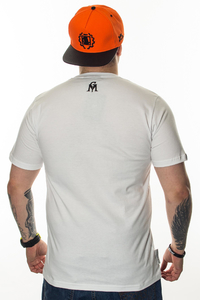 GANJA MAFIA T-SHIRT HERB WHITE-BLACK