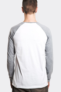 STOPROCENT LONGSLEEVE LS TAG17 WHITE-GREY