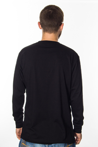 LONGSLEEVE EL POLAKO CLASSIC SHADOW BLACK