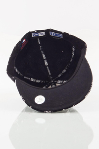NEW ERA FULLCAP NY ZIP BLACK