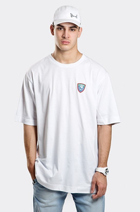 STOPROCENT T-SHIRT TM STRIPE18 LIGHT WHITE