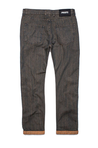 PROSTO SPODNIE JEANS REGULAR PIN ROLL GREY
