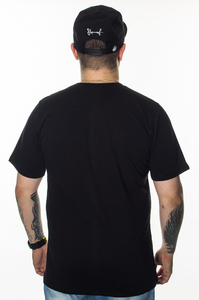 PATRIOTIC T-SHIRT PP OVER BLACK