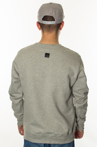 SMOKE STORY GROUP BLUZA NEW CUT LOGO GREY