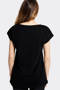STOPROCENT T-SHIRT TDB OSTRA BLACK