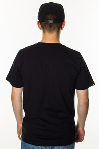 PATRIOTIC T-SHIRT WW GLOBE BLACK