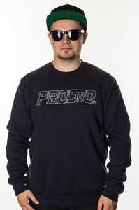 PROSTO KLASYK BLUZA CREWNECK MANAUS NIGHT BLUE