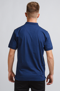 PATRIOTIC POLO HORSEMAN NAVY-ORANGE
