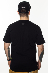 PROSTO KLASYK T-SHIRT CRACK BLACK