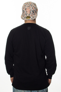 PROSTO KLASYK LONGSLEEVE LOW DOWN BLACK