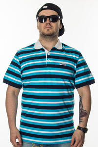 PROSTO KLASYK POLO SHORT NEXT BLUE