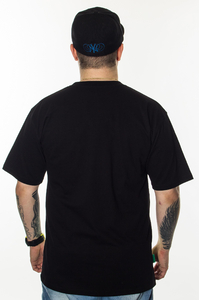 DIIL T-SHIRT OFF COLOR BLACK-GREEN