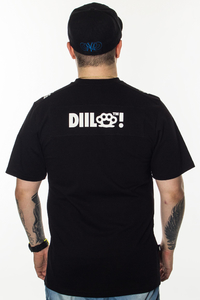 DIIL T-SHIRT KNUCKLE DG BLACK
