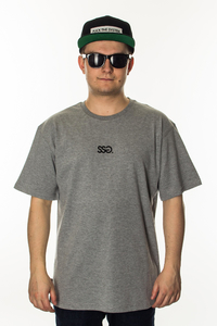 SMOKE STORY GROUP T-SHIRT SMALL CLASSIC GREY