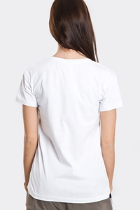 STOPROCENT T-SHIRT TDV FAKJU WHITE