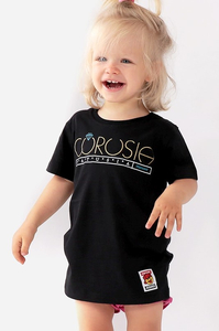 STOPROCENT KIDT T-SHIRT CÓRUSIA BLACK