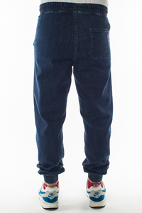 SMOKE STORY GROUP JOGGERY REGULAR Z GUMĄ JEANS MEDIUM