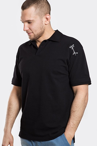 STOPROCENT T-SHIRT POLO TP TAG17 BLACK