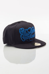 NEW ERA FULLCAP NEW ERA BLACK-BLUE