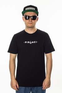 GANJA MAFIA T-SHIRT PIRACI BLACK