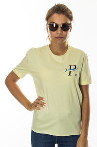 PROSTO T-SHIRT DAMSKI SUN YELLOW