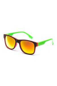 OKULARY BLOCX CLASSIC SLIM FTS RED X GREEN P30- 229