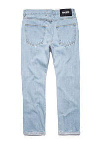 PROSTO SPODNIE JEANS REGULAR PIN ROLL LIGHTBLUE