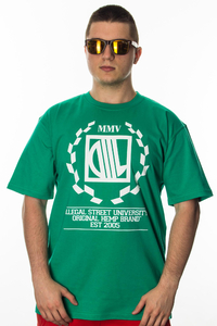 DIIL T-SHIRT LAUR GREEN