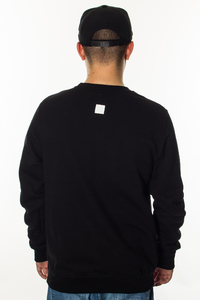 SMOKE STORY GROUP BLUZA NEW CUT LOGO BLACK