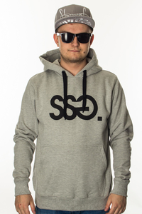 SMOKE STORY GROUP BLUZA KANGURKA SSG CLASSIC GREY
