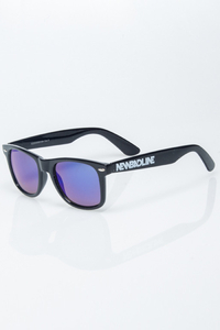 NEW BAD LINE OKULARY CLASSIC BLACK FLASH BLUE MIRROR 1216