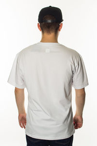 SMOKE STORY GROUP T-SHIRT CLASSIC OUTLINE WHITE