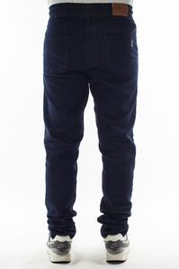 SMOKE STORY GROUP JEANSY STRETCH STRAIGHT FIT GUMA DARKBLUE