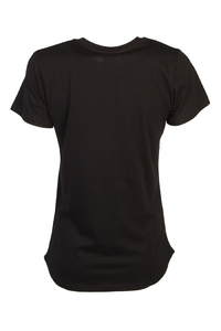 LADY DIIL T-SHIRT ROMI BLACK