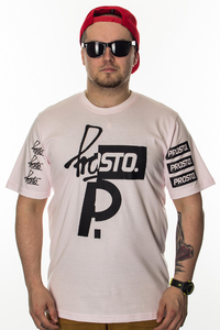 PROSTO T-SHIRT CUT ACID PINK
