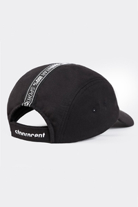 STOPROCENT CZAPKA 5PANEL TAPE BLACK