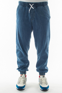 SMOKE STORY GROUP JOGGERY REGULAR Z GUMĄ TAG JEANS LIGHT