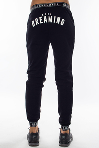 GANJA MAFIA LEGGINSY FLEXI BLACK